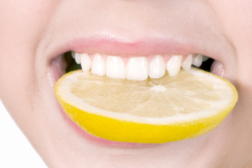 Dental erosion lemon
