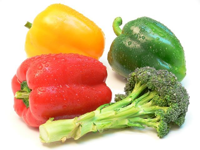 Peppers Broccoli Vitamin C