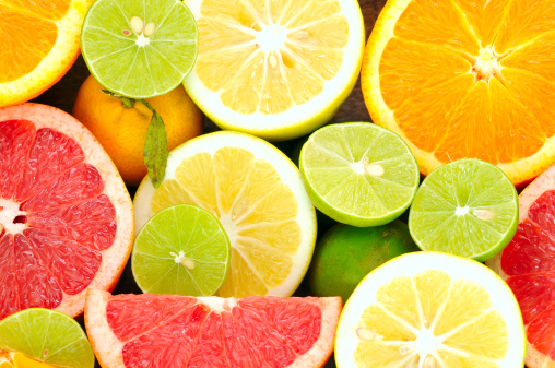 Vitamin C Fruits - Citrus