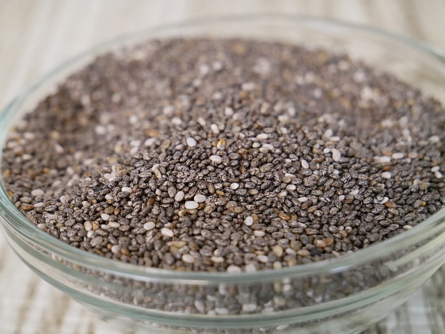 Chia-seeds soaked